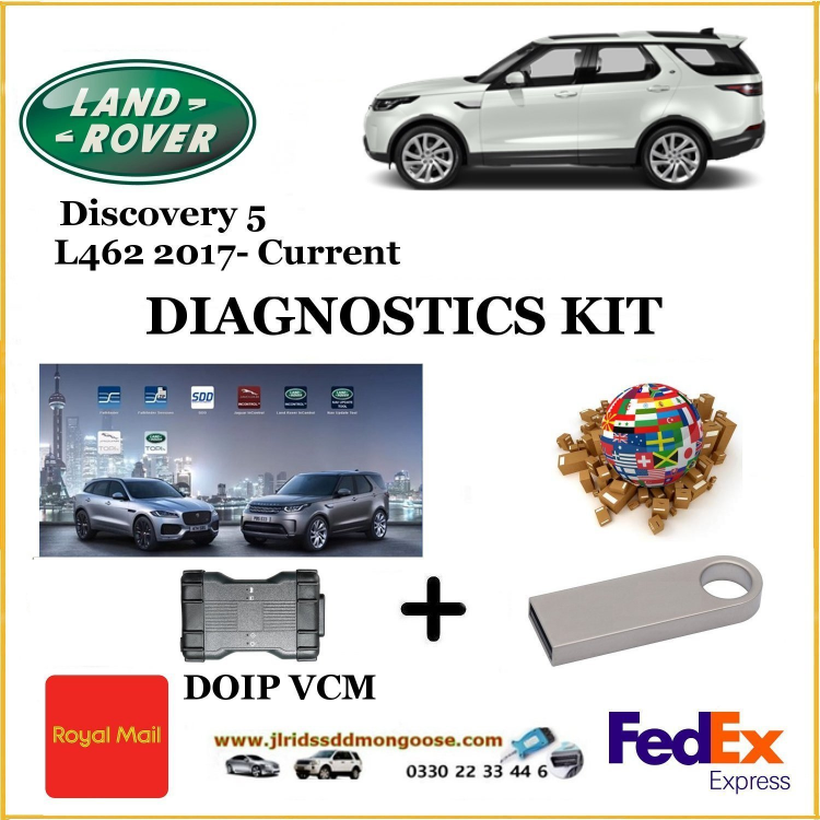 Discovery 5 L462 2017 - Current Land Rover Pathfinder DOIP DIY KIT