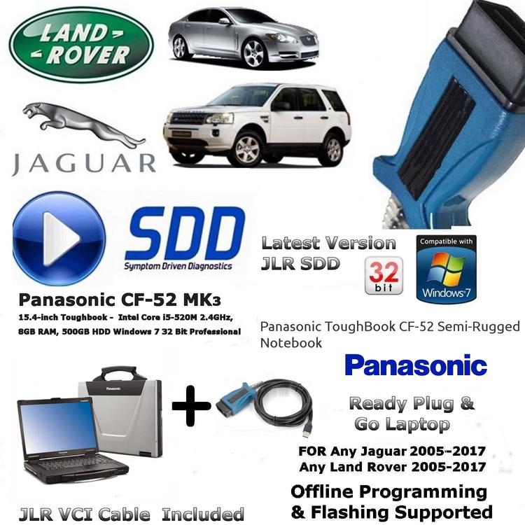 Build Your Own Panasonic Tough book CF-52 CF-19 J2534 Pass Thru Diagnostic Laptop